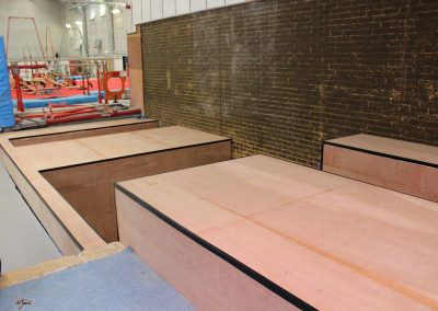 Gymnastics Projects Gym Pits Construction Wright